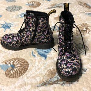 Dr. Marten Floral Delaney Air Wait Boots Size 5